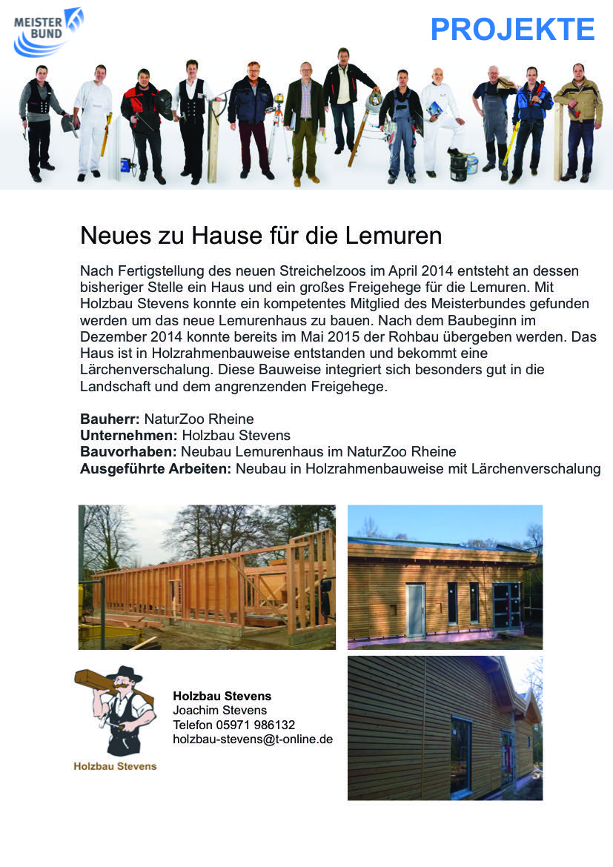 Projekt Lemurenhaus